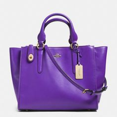 How could you not love this color? Awesome accent piece. The Crosby Carryall In Leather from Coach