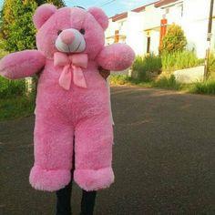 Jual beli Boneka beruang teddy bear 1 meter soft pink lucu murah di Lapak  GUDANG BONEKA fb40ba7088