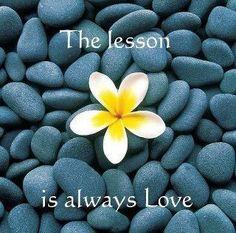 The lesson...