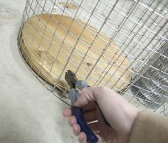 Wire Hamper DIY