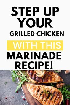 This easy chicken marinade is perfect to use on thighs, breasts, drumsticks or even wings! When you use a few pantry staple ingredients you'll be able to make the most amazing chicken that will wow your family! And with only 4 ingredients, you know it will be easy.