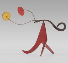 Alexander Calder, 'Red and Yellow Antlers,' , Christie's