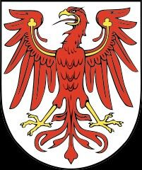 Brasãode armas do estado de Brandemburgo... Alemanha