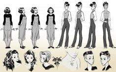 The online character design and concept art portfolio of Olivia Margraf (Olivia Margraf-Posta) for 2015