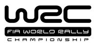 WRC Logo - You can almost hear the wheels squeaking.