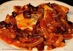 Kliknij i zobacz więcej. Polish Recipes, Fish Dishes, Ratatouille, Chili, Seafood, Food And Drink, Pork, Appetizers, Yummy Food