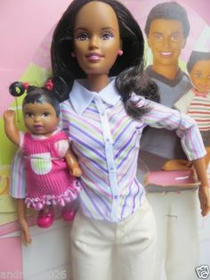 AA Barbie Happy Family Midge Nikki | eBay
