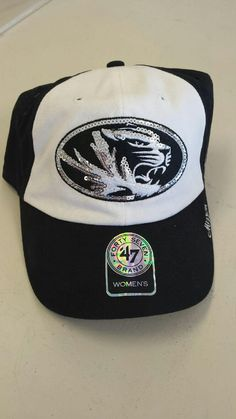 on sale 7ae64 3ad7c Missouri Tigers Ladies Sequin Logo Adjustable Hat by  47 Brand www. shopmosports.com