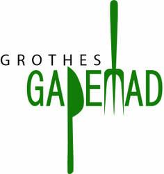Logo design for GROTHES GADEMAD - Designer: Jakob Clemen Lavrsen