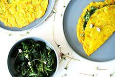 Gesunde Küche - Palatschinken mit Brennessel! Ein TCM Rezept für die Knochen!