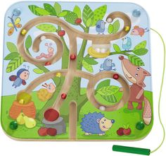 This tree maze magnetic #game from @habausa is great for those #traveling this #holiday season.