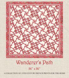 Le Bouquet Francais - Wanderer's Path Quilt Pattern