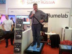 Anton Starov destroying screen at #spinetix #panasonic #integratedsystemsrussia #integratedsystemsrussia2015