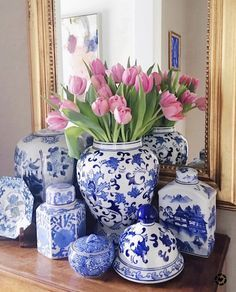 Designer Look For Less: Even More Great Home Decor Sources. Designer Look Less Money: Great Home Decor Sources. Find some great online home decor sources to get the designer look for less money. Inspirational ideas for home decor and design. Decor, Blue And White Vase, White Home Decor, Blue China, Blue And White, Decor Design, White Vases, Blue Decor, White Decor