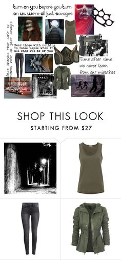 """Theory Of A Deadman: Savages"" by hu4thewin ❤ liked on Polyvore featuring Whistles, American Eagle Outfitters, H&M and Japonesque"