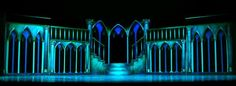 """Scenic Design for """"Beauty and the Beast"""" - Design by Brandon Hardy at touchtalent"""