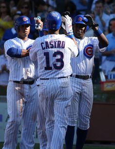 The Pirates, who were swept last week by the Chicago Cubs, came to Wrigley Field for a week-end series with revenge on their minds. Starlin Castro drove in four runs and Chris Rusin won his first major league game with a win over the Pirates 7-4 (9/14/12), before a season-low 26,946 fans.