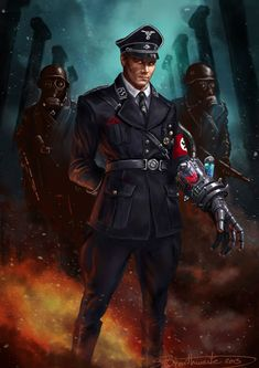Super Soldier Nazi General by Shane Braithwaite on deviantART