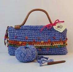 image of crochet bag