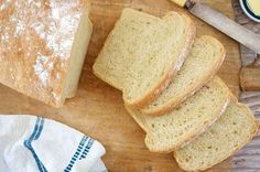 Basic Sourdough Bread | King Arthur Flour: Sourdough bread from your bread machine or oven.
