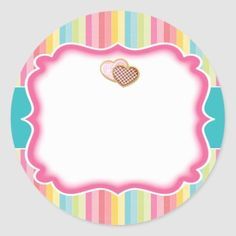 Stencil Stickers, Custom Stickers, Candy Logo, Cupcake Vector, Dessert Packaging, Packaging Stickers, Bakery Logo Design, Crochet Food, Borders And Frames