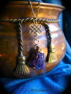 Celtic Amethyst necklace