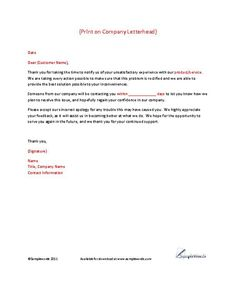 Indented business letter format business letters pinterest client complaint response letter template more spiritdancerdesigns Gallery