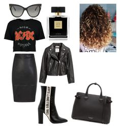 """Feeling like a Rockstar"" by karrington-bolton on Polyvore featuring Havva, H&M, Tom Ford, Burberry and Avon"