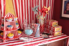 Circus Birthday Party - Candy Buffet by ecdesignz, via Flickr