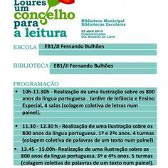 EB1/JI Fernando Bulhões EB1/JI Fernando Bulhões  10h-130h - Realização de uma ilustração sobre os 800 anos da língua portuguesa . Jardim de Infância e En. http://slidehot.com/resources/eb1-ji-fernandobulhoes.35777/