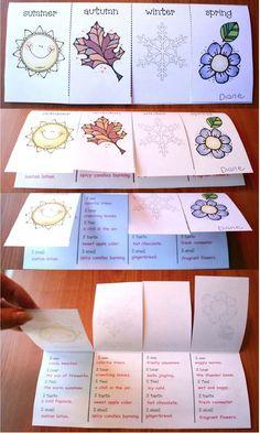 kiddiewinkles preschool seasons amp senses activities creative writing anchor 153