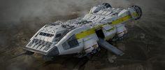 ArtStation - Alien Covenant - Lander, Steve Burg