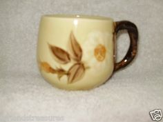 Café Royal Rose Small Coffee or Hot Cocoa Mug Franciscan Ware ~ Hand Painted Approx 3 Tall & 7 Oz ~  Pre-Owned