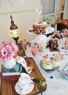 Decoração de Festa Vintage Romântica