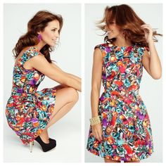 Floral fabric, very strong tendency!