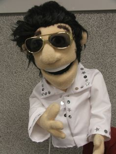 Elvis by PJs Puppets