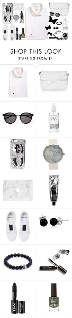 """""""SHIRT-FORMAl!!"""" by lucksmetoo ❤ liked on Polyvore featuring Strong Suit, Topshop, Yves Saint Laurent, Chiara Ferragni, Pierre Hardy, Bling Jewelry, Bobbi Brown Cosmetics, NYX and polyvoreeditorial"""