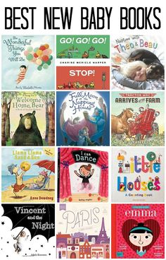 Best New Baby Books! Time to curl up and read with your babies :)