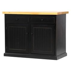 American Heartland Poplar Kitchen Island Butcher Block Top - #75116CR-BB
