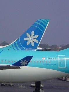 Air Tahiti Nui A340 at LAX More info at : Http://www.airtahitinui-usa.com/