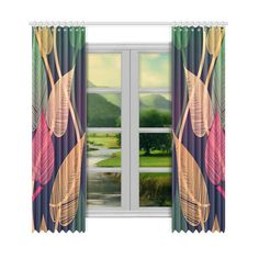 Flowing vertical white / light grey ribbons on a black background. Black And White Ribbon, Green Ribbon, Black White, Tropical Colors, Tropical Leaves, Dragon Skin, Steel Curtain, Window Curtains, White Light