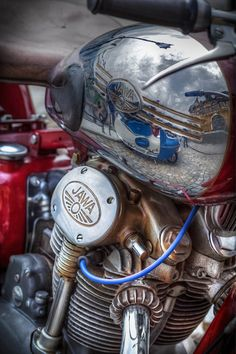 Archaic, frequent, popular and Vintage Motorcycles - Our team advertise bicycles regarding a special kind! Motos Vintage, Vintage Bikes, Vintage Motorcycles, Custom Motorcycles, Cars And Motorcycles, Motorcycle Images, Motorcycle Engine, Motorcycle Design, Classic Motors