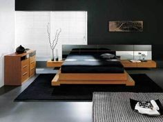 Black Bedroom with Japanese Style Japanese Style Bedroom: A Room with Full of Philosophy Check more at http://www.bonsaikc.com/japanese-style-bedroom-a-room-with-full-of-philosophy/