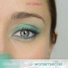 El azul turquesa es un must esta primavera. ¿Te atreves a usarlo en tu maquillaje? #WSBelleza