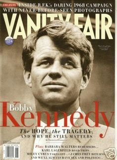 Vanity Fair featuring Bobby Kennedy after his death -- June 1968
