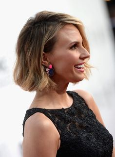 Keltie Knight short bob with ombre