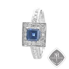 Global Wealth Trade Corporation - FERI Designer Lines Blue Rings, Bridal Collection, Druzy Ring, Wedding Bells, Wealth, Sapphire, Jewels, Processing Time, Detail