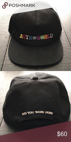 "ee2262b35e9 Travis Scott x Astroworld snapback hat Travis Scott x Astroworld ""Wish You  Were Here"""