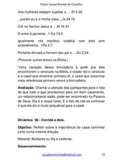 Coletânea de dinâmicas para casais Ruan, Dating, Interpersonal Relationship, Quotes Motivation, Bible, Goals, Pastor