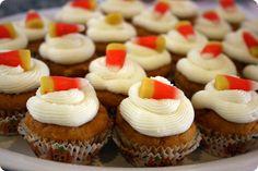 Pumpkin cupcakes using a cake mix